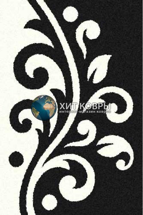 Российский ковер прямоугольный Platinum t621 черный natural