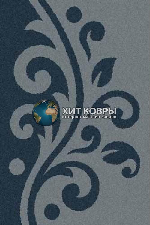 Российский ковер прямоугольный Platinum t621 голубой