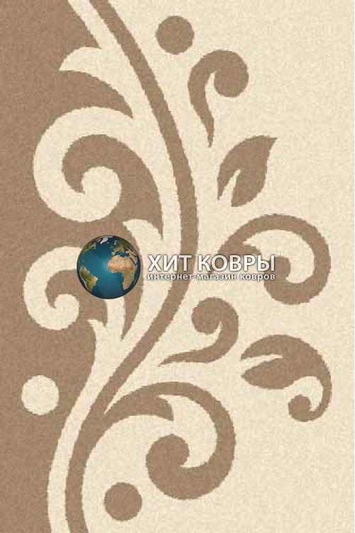 Российский ковер прямоугольный Platinum t621 кремовый