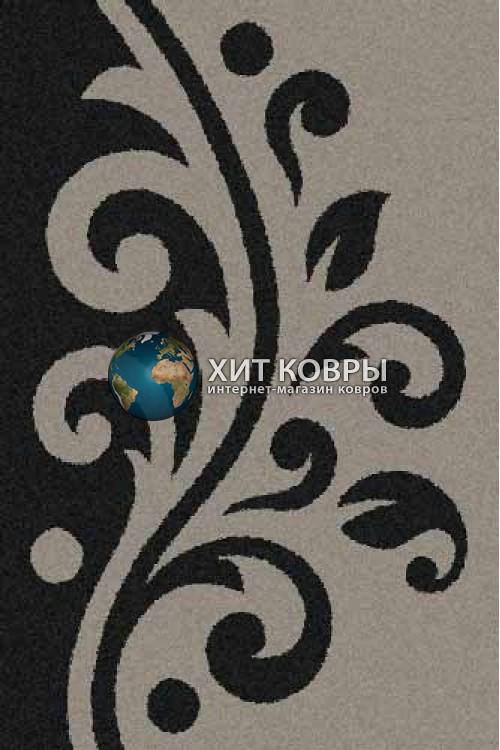 Российский ковер прямоугольный Platinum t621 серый