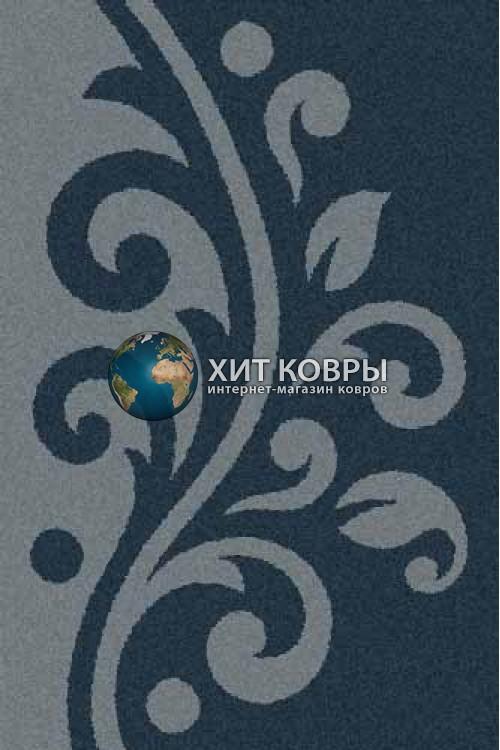 Российский ковер прямоугольный Platinum t621 бирюзовый