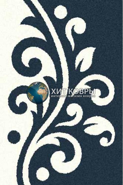 Российский ковер прямоугольный Platinum t621 бирюзовый natural