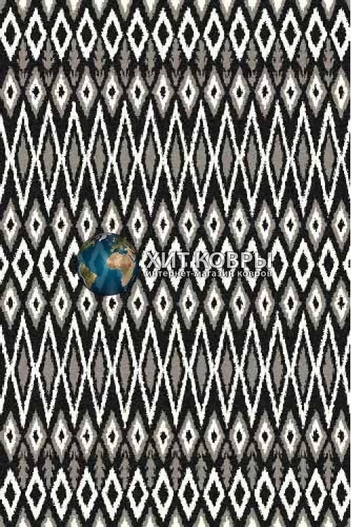 Российский ковер прямоугольный Platinum t624 черный