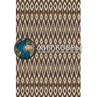 Российский ковер prymougolnik-platinum-t624_brown