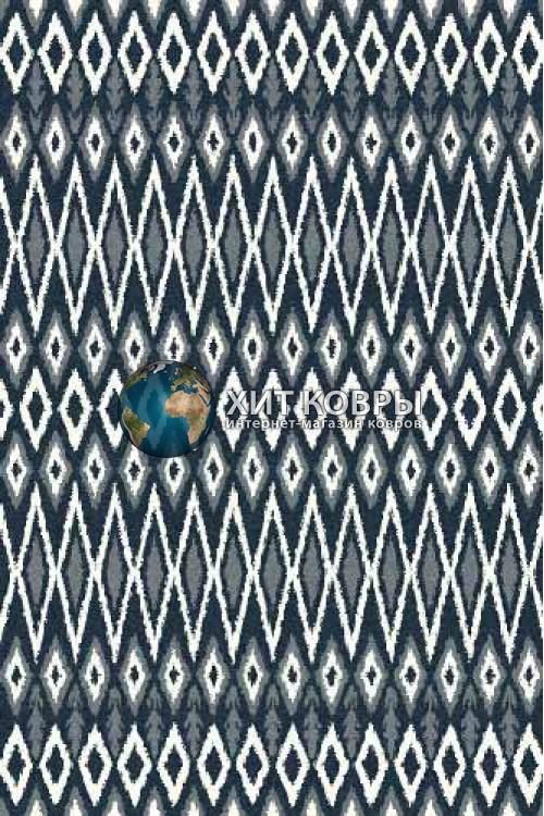 Российский ковер прямоугольный Platinum t624 бирюзовый
