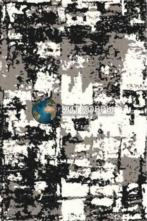 Российский ковер прямоугольный Platinum t625 серый