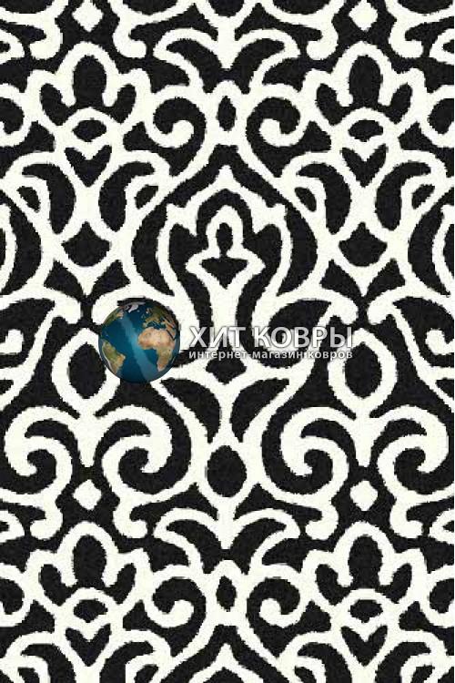 Российский ковер прямоугольный Platinum t627 черный