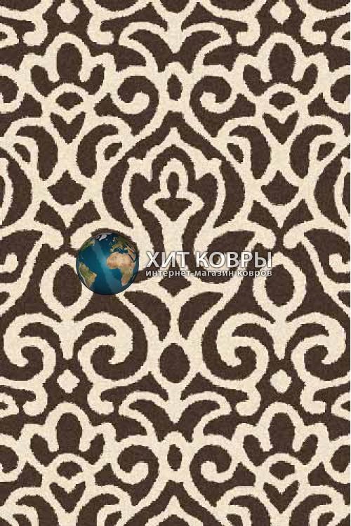 Российский ковер прямоугольный Platinum t627 коричневый
