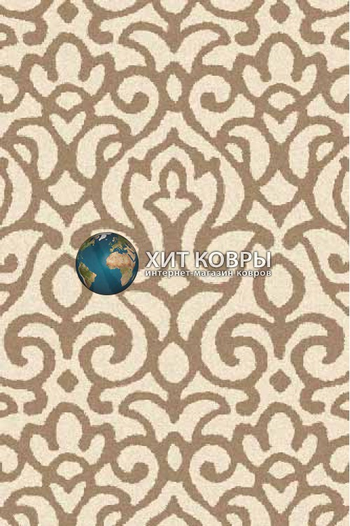 Российский ковер прямоугольный Platinum t627 кремовый