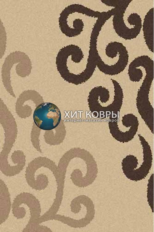 Российский ковер прямоугольный Platinum t628 бежевый