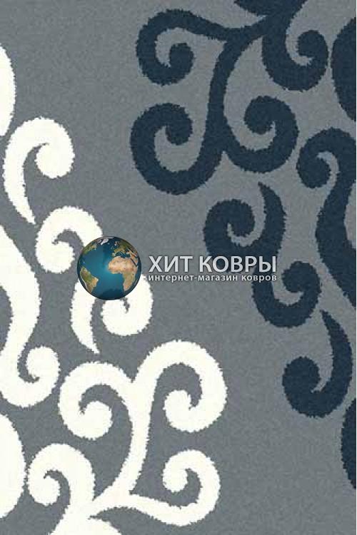 Российский ковер прямоугольный Platinum t628 голубой