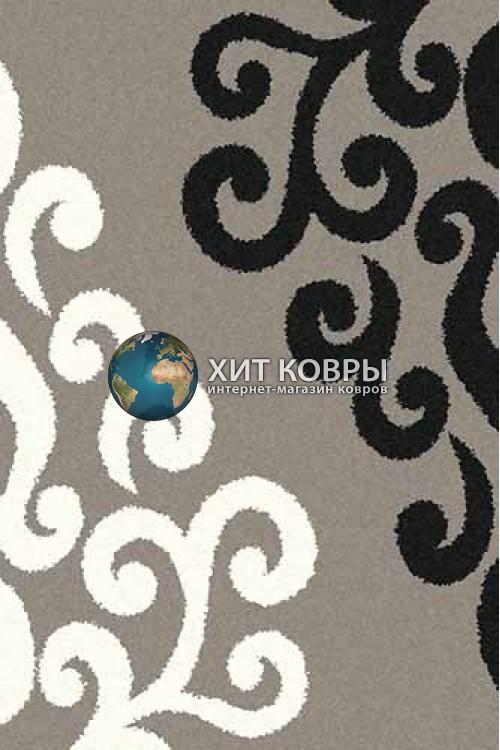 Российский ковер прямоугольный Platinum t628 серый