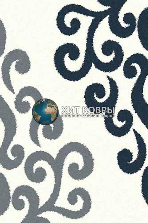 Российский ковер прямоугольный Platinum t628 natural голубой