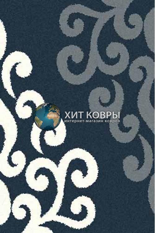 Российский ковер прямоугольный Platinum t628 бирюзовый