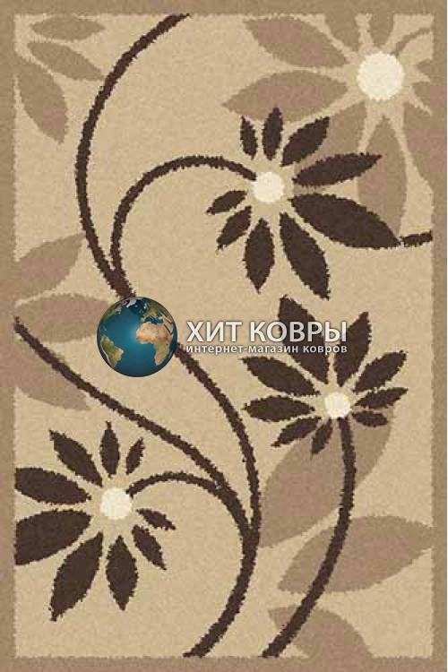 Российский ковер прямоугольный Platinum t629 бежевый