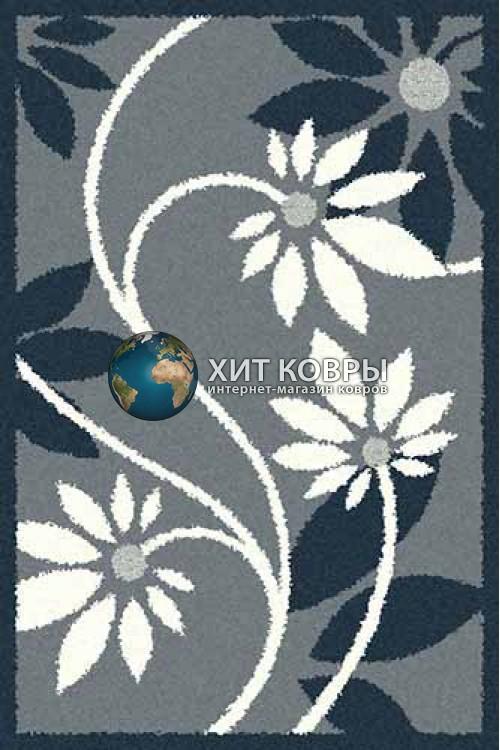 Российский ковер прямоугольный Platinum t629 голубой