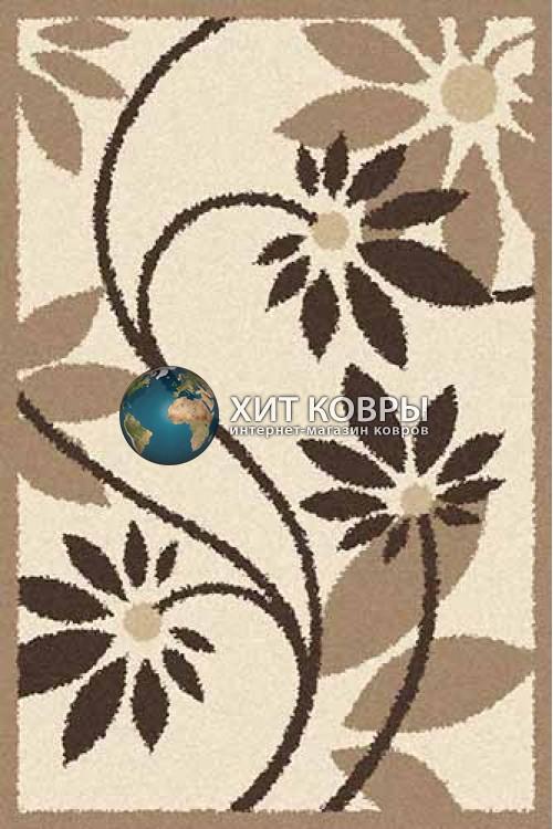 Российский ковер прямоугольный Platinum t629 кремовый
