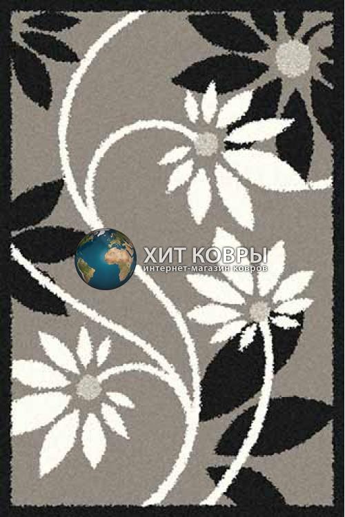Российский ковер прямоугольный Platinum t629 серый
