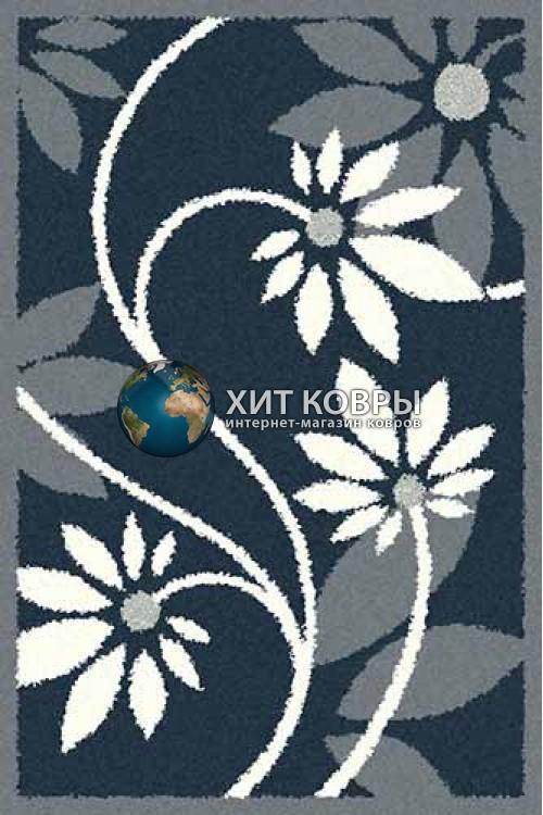 Российский ковер прямоугольный Platinum t629 бирюзовый