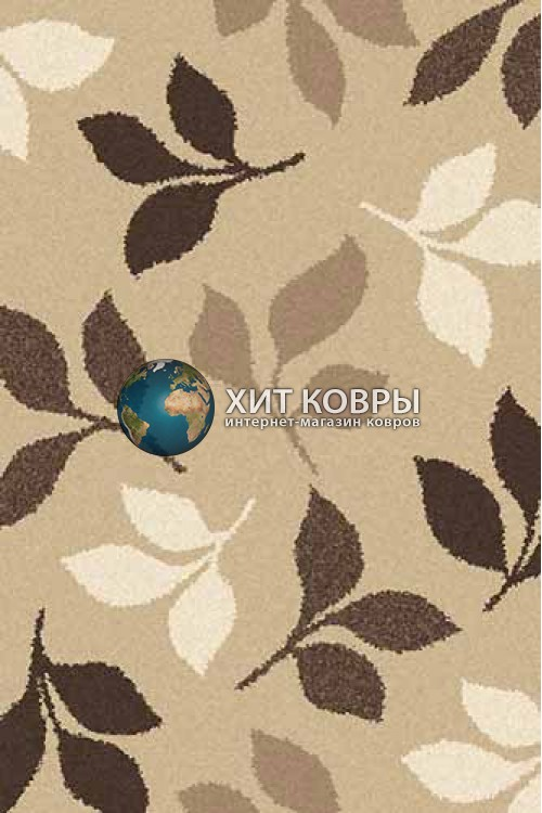 Российский ковер прямоугольный Platinum t631 бежевый