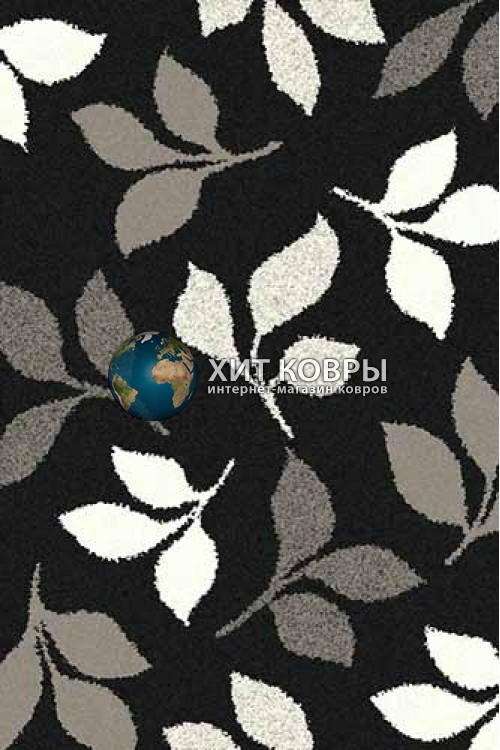 Российский ковер прямоугольный Platinum t631 черный