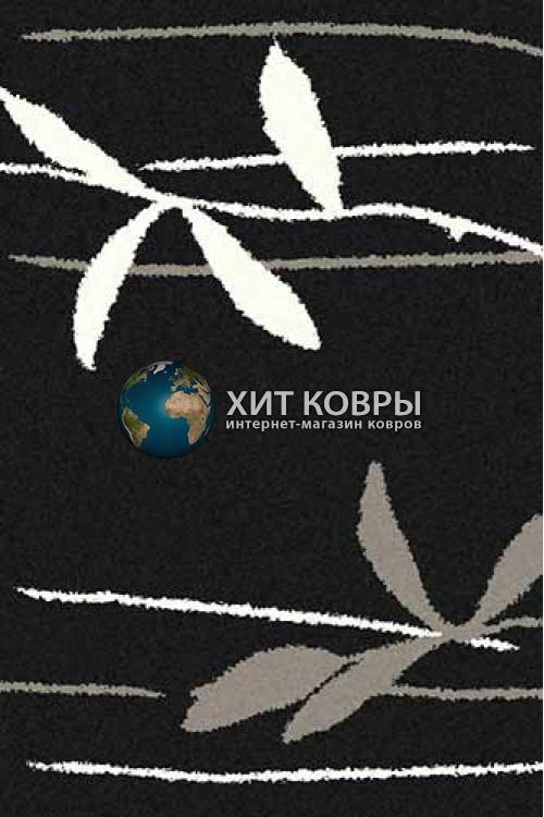 Российский ковер прямоугольный Platinum t633 черный