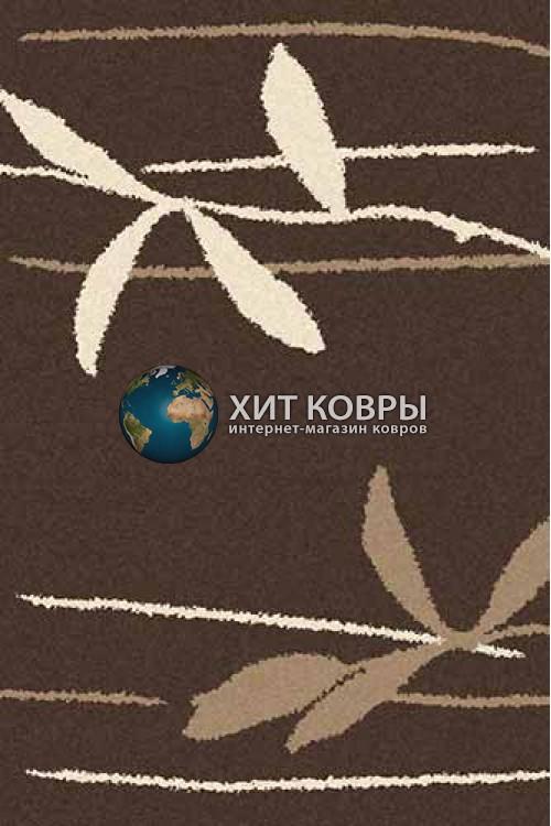 Российский ковер прямоугольный Platinum t633 коричневый