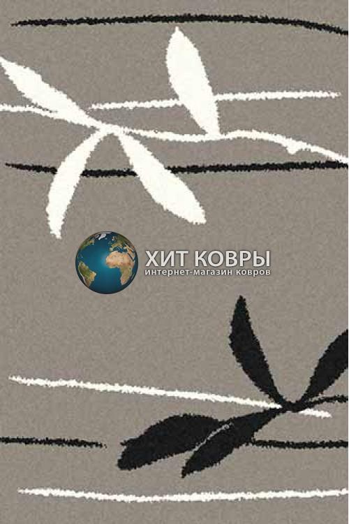 Российский ковер прямоугольный Platinum t633 серый