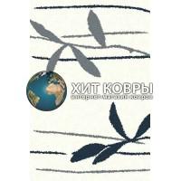 Российский ковер prymougolnik-platinum-t633_natural-blue