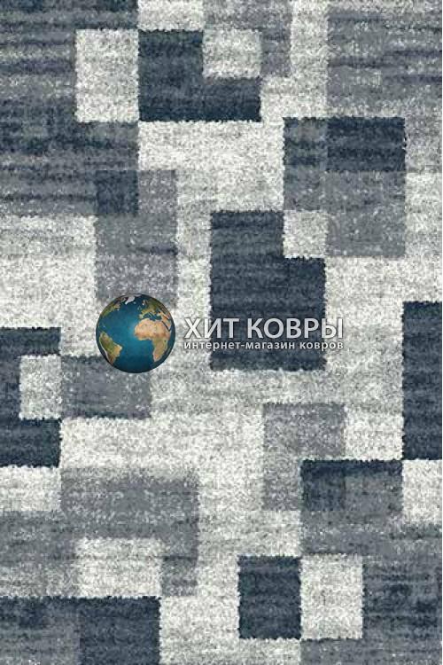 Российский ковер прямоугольный Platinum t635 голубой