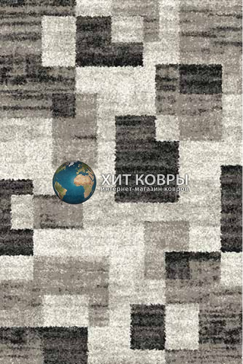 Российский ковер прямоугольный Platinum t635 серый