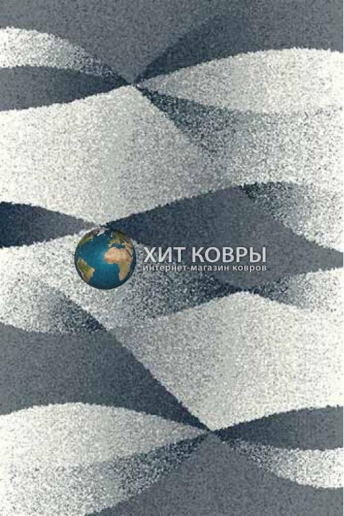Российский ковер прямоугольный Platinum t636 голубой