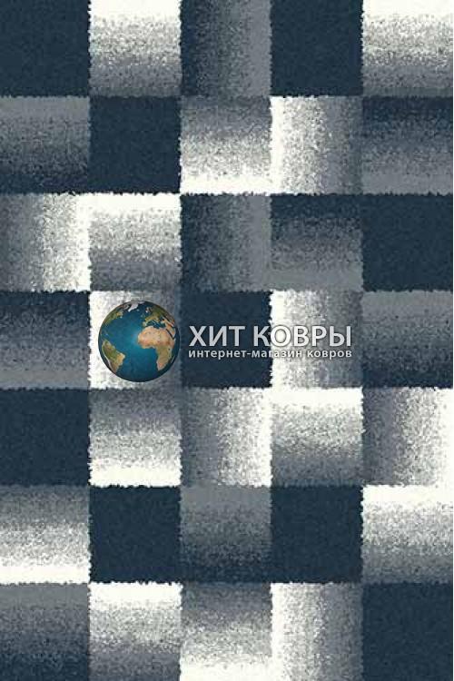 Российский ковер прямоугольный Platinum t637 голубой