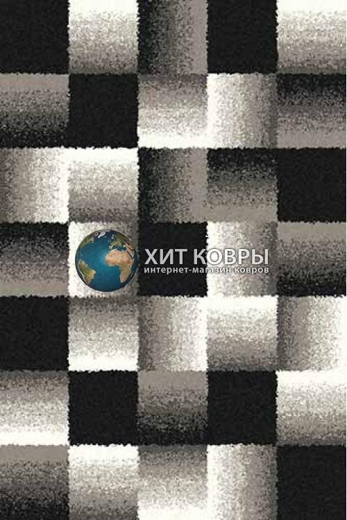 Российский ковер прямоугольный Platinum t637 серый