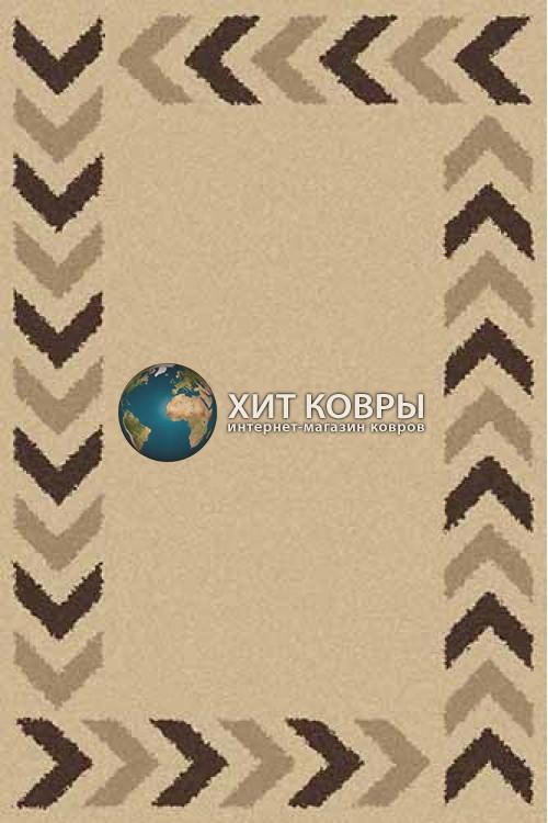 Российский ковер прямоугольный Platinum t638 бежевый