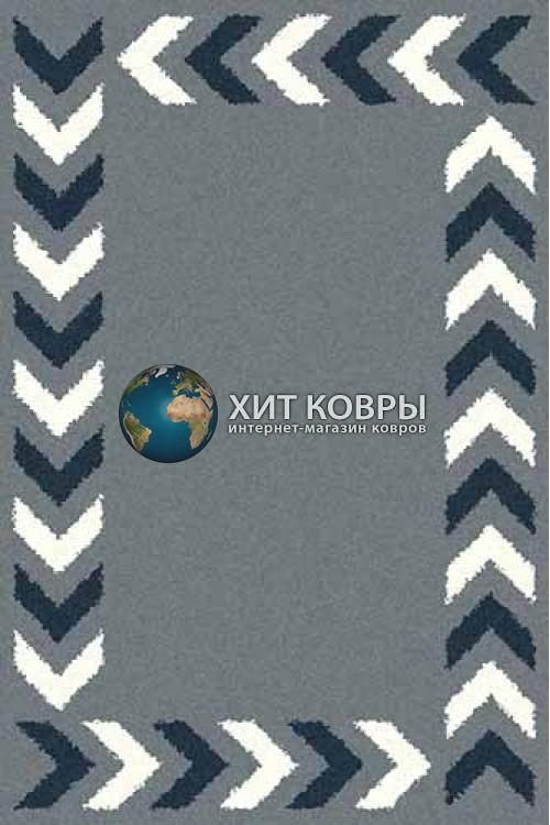 Российский ковер прямоугольный Platinum t638 голубой