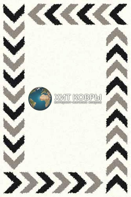 Российский ковер прямоугольный Platinum t638 natural серый