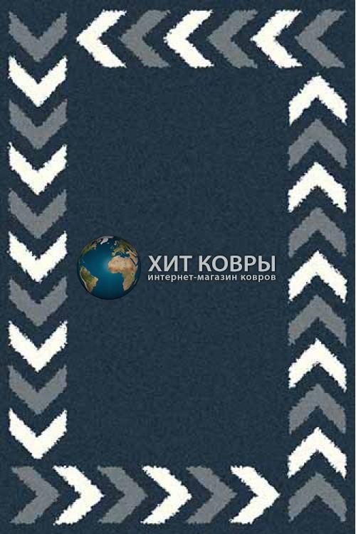 Российский ковер прямоугольный Platinum t638 бирюзовый