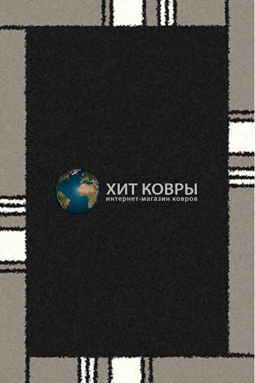 Российский ковер прямоугольный Platinum t640 черный