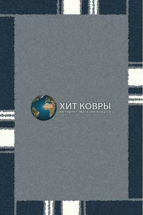 Российский ковер прямоугольный Platinum t640 голубой