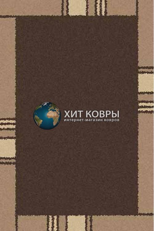 Российский ковер прямоугольный Platinum t640 коричневый