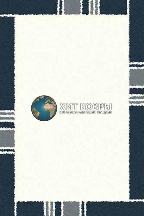 Российский ковер прямоугольный Platinum t640 natural голубой