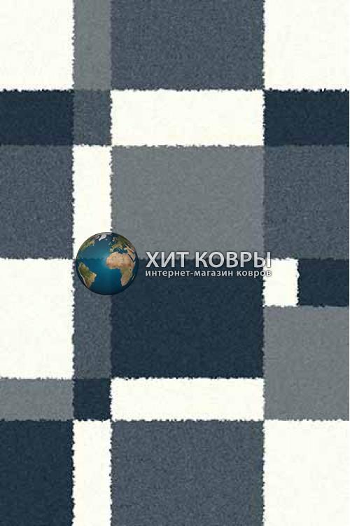 Российский ковер прямоугольный Platinum t641 голубой