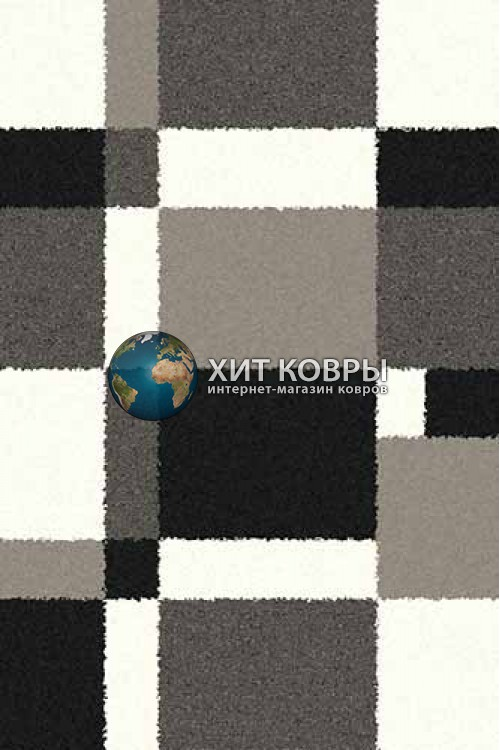 Российский ковер прямоугольный Platinum t641 серый