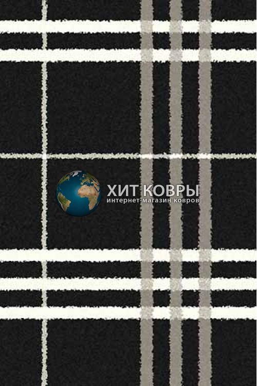 Российский ковер прямоугольный Platinum t642 черный