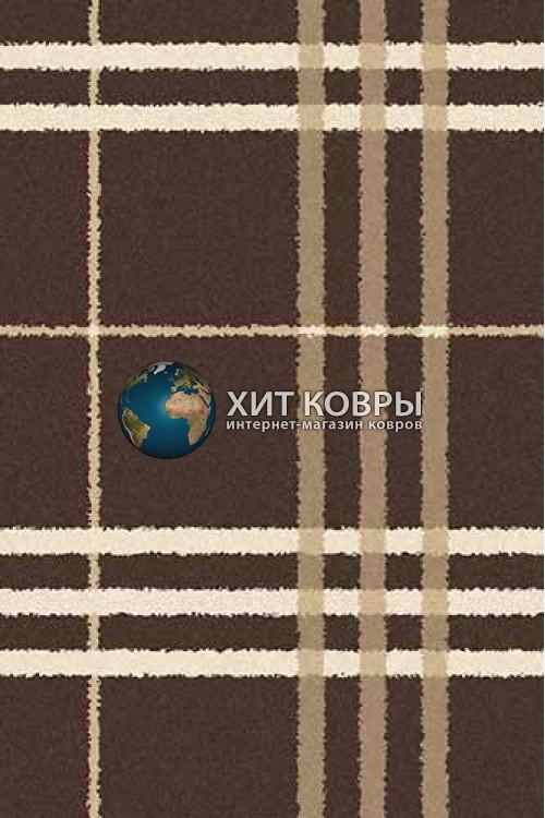 Российский ковер прямоугольный Platinum t642 коричневый