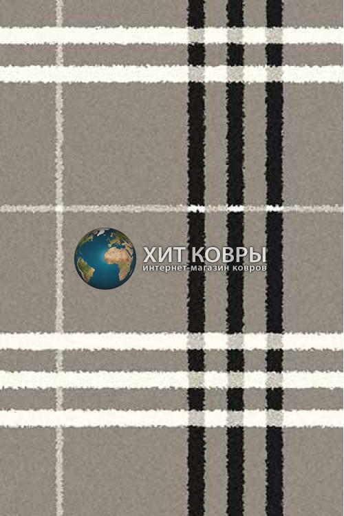 Российский ковер прямоугольный Platinum t642 серый