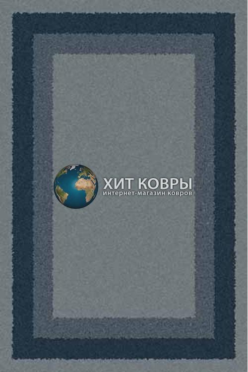 Российский ковер прямоугольный Platinum t643 голубой