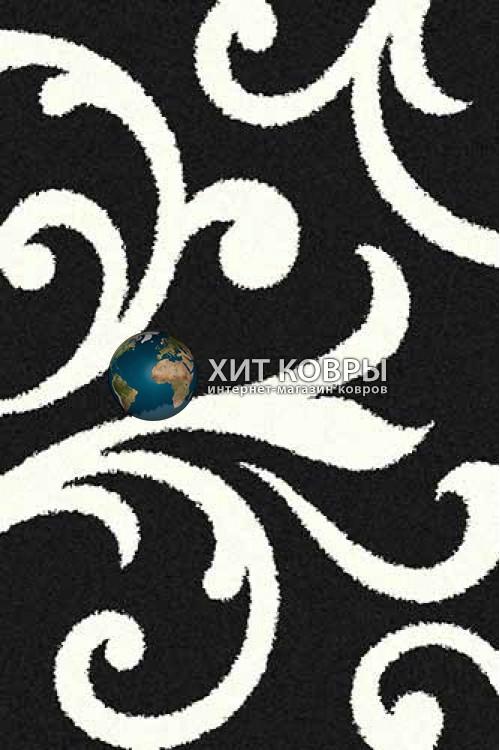 Российский ковер прямоугольный Platinum t644 черный natural