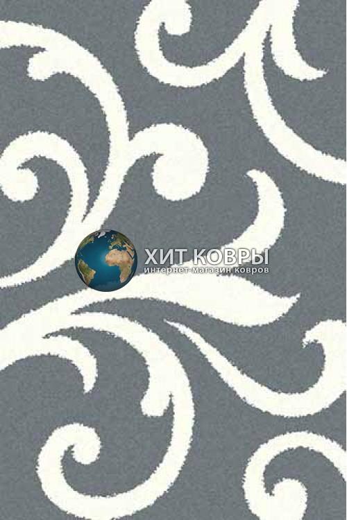 Российский ковер прямоугольный Platinum t644 голубой natural